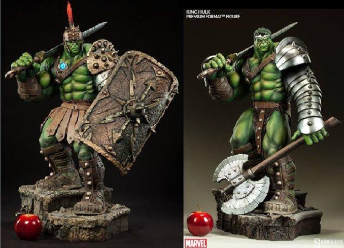 Thor Ragnarok Gladiator Hulk statue
