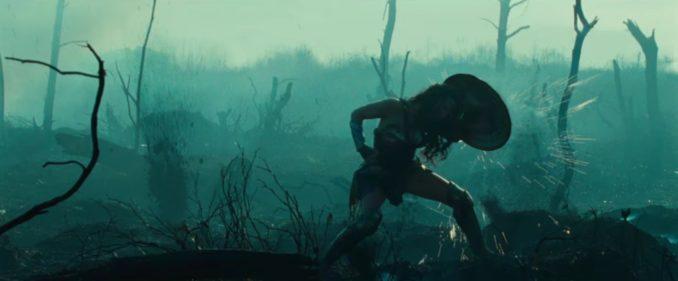 Wonder Woman battlefied