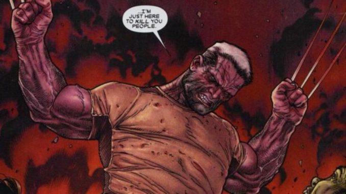 Hugh Jackman Old Man Logan comic