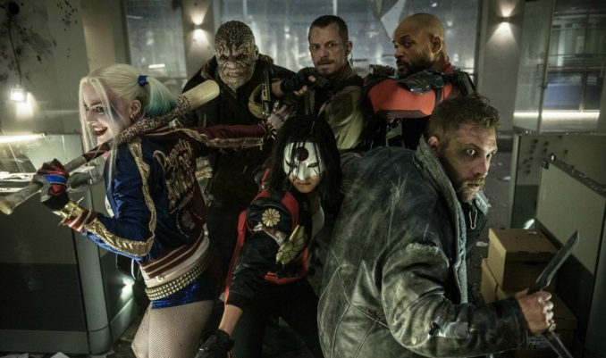 suicide squad circle the flag