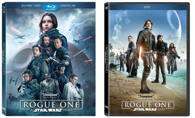 Rogue One DVD blu-ray