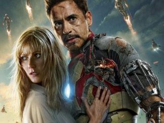 Iron Man Roberty Downey Jr Gwynenth Paltrow