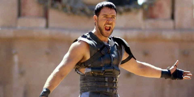 Gladiator 2 Russell Crowe