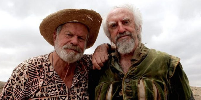 Terry Gilliam Jonathan Pryce Man Who Kille Don Quixote