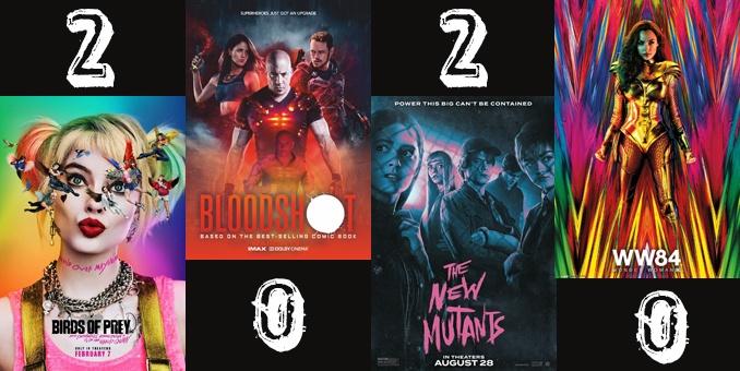 2020 Comic Book Films