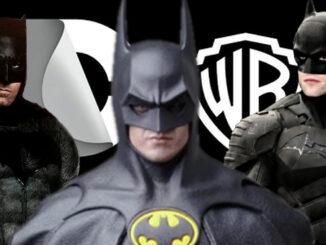 Batman Keaton Affleck Pattinson