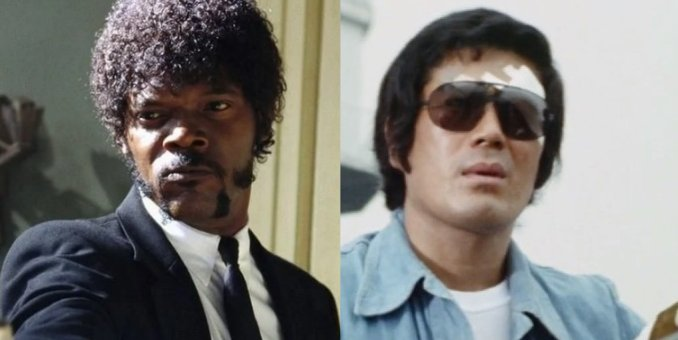 Pulp Fiction, The Bodyguard, Samuel L Jackson, Sonny Chiba